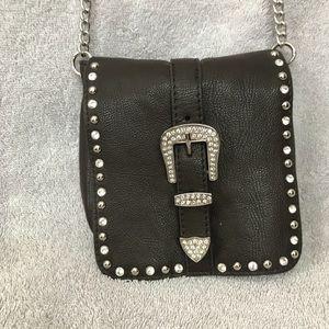 Handbags - Brown mini sparkly crossbody